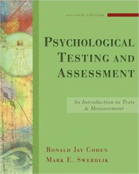 psychometrics an introduction books psychological testing and assessment an introduction to