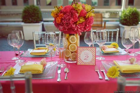 fuchsia  hot pink wedding color combination ideas