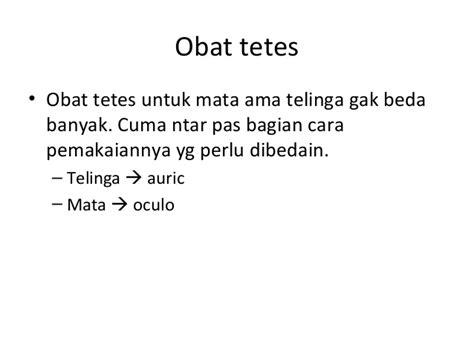 Obat Tetes Mata Yg Kuning tentir menulis resep fkui2007