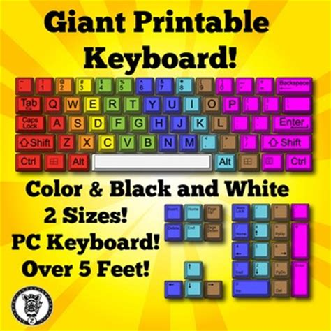printable keyboard poster printable computer lab posters bing images