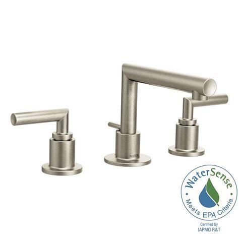 moen black bathroom faucets moen align 8 in widespread 2 handle bathroom faucet trim