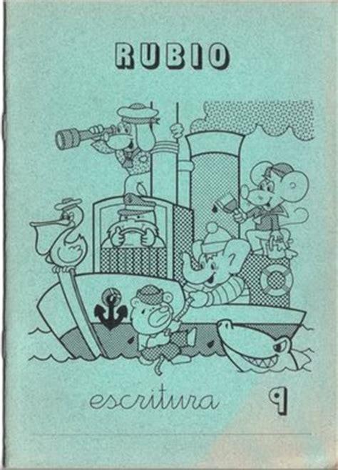 cuadernos rubio educacion infantil 8485109406 un poquito de educaci 243 n cuadernos rubio