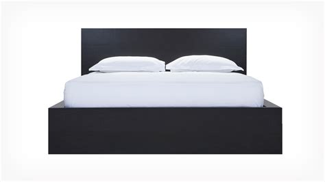 w bed eq3 simple bed w panel headboard
