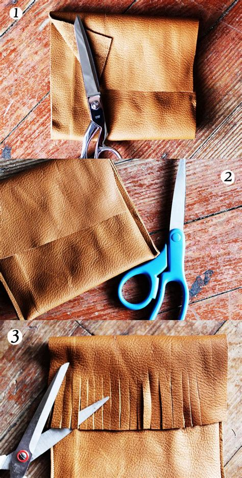 How To Sew A Leather leather pocket purse steps
