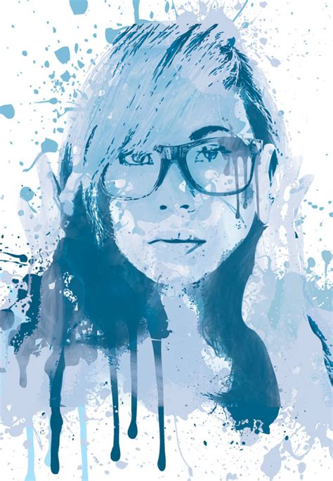 adobe photoshop watercolor tutorial create a painted portrait effect in illustrator using the