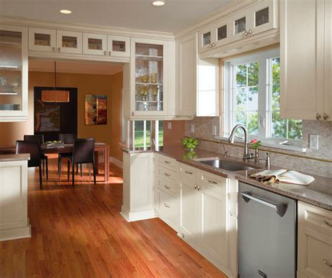 The Crafty Kitchen by White Cabinets In Casual Kitchen Kitchen Craft Cabinetry