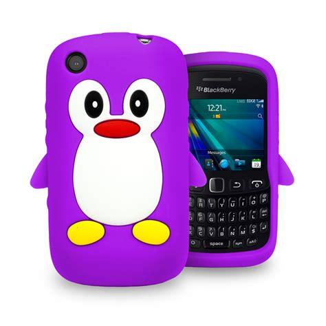 Casing Hp Bb Curve 9320 penguin soft silicone for blackberry 9320 curve 9320 screen protector ebay