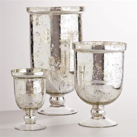 Mercury Glass Candle Holders by 301 Moved Permanently