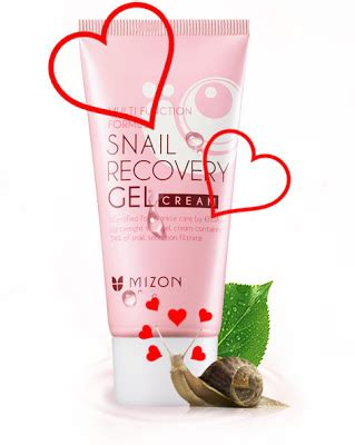 Mizon Multi Function Formula Snail Recovery Gel 45ml snow white and the asian pear weekly review mizon multi function formula snail recovery gel