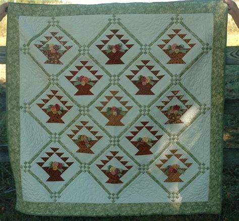 Flower Basket Quilt Pattern by Flower Basket Quilt Quilts