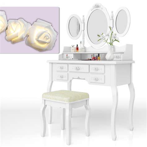 bedroom vanity with storage dressing table stool makeup table storage mirror bedroom