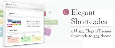 elegant themes mobile plugin elegant themes elegant shortcodes plugin for wordpress