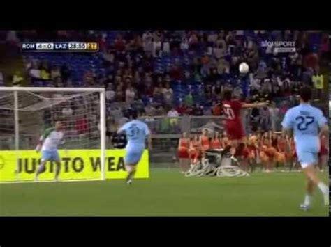portiere roma 2013 gol mattia perin derby cuore 2013 roma lazio