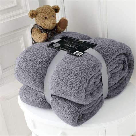fleece sofa throw blanket luxury or king fleece blanket teddy throw for