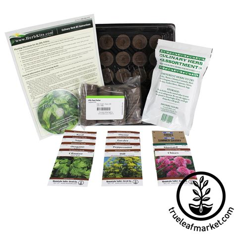 indoor garden kit herb seed kit herb garden kit garden gift set gift for