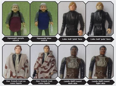 figure guide s wars toys variants a guide starwars