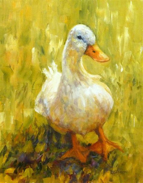 painting animals daily painters of arkansas side duck debra sisson