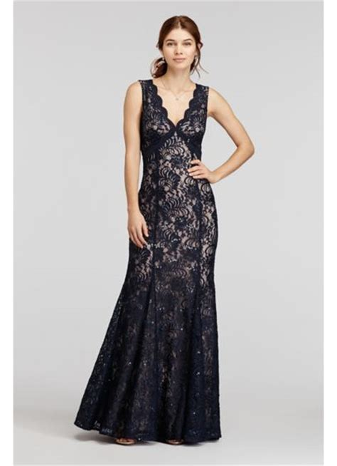 dramatic all over sequin and rhinestone prom dresses by la femme all over sequin lace dress with open back davids bridal