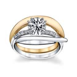 husar s house of diamonds 14kt white and yellow gold