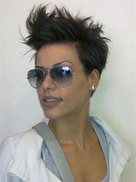 punky shoet pixi cut edgy short punk hairstyles can you pull off the look