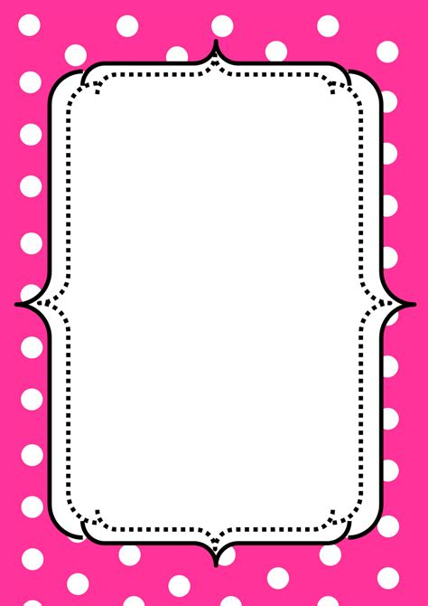 border clipart free pink borders cliparts free clip free