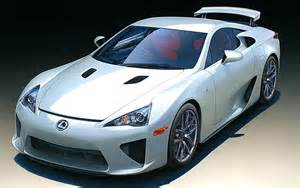 Toyota Lfa Scale Model News The Tamiya Toyota Lfa 1 24 Scale Kit At
