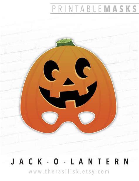 jack o lantern mask template gallery templates design ideas