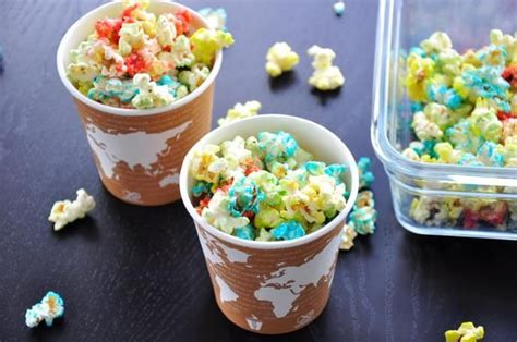 colored popcorn colored popcorn recipe colored popcorn popcorn and
