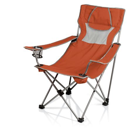 burnt orange folding chairs picnic time csite folding c chair burnt orange grey