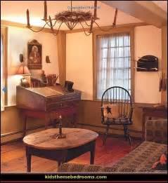 Colonial homes american decorating patriotic pride with primitive