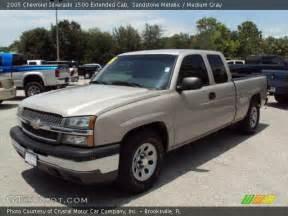 2005 Chevrolet Silverado 1500 Extended Cab Sandstone Metallic 2005 Chevrolet Silverado 1500