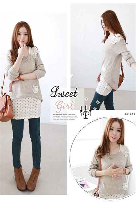 Baju Tidur Wanita Import Kode M102b baju wanita import korea panjang model terbaru jual