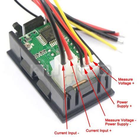 digital volt meter wiring diagram digital free