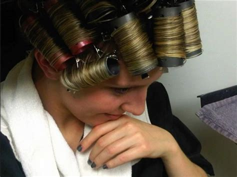 sissy in curlers updos 104 best images about perms on pinterest