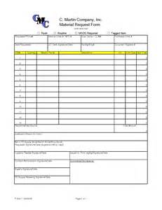 construction material request form template best photos of material request form template material