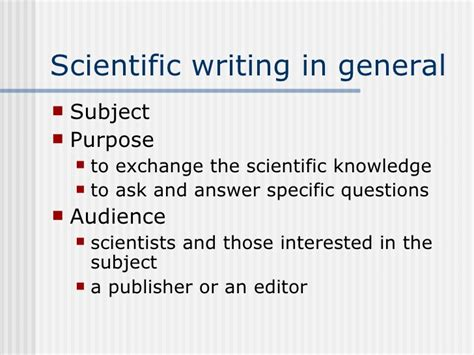 how to write publish a scientific paper pdf writing and publishing science research papers in