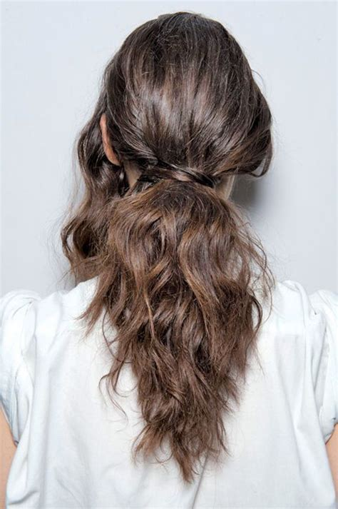 17 best images about trend the new ponytail on coiffures hair ponytail and updo