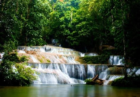 Lukisan Kuno Pemandangan Sungai Di Tengah Sawah L21 air terjun gt alam indonesia gt foto beautiful indonesia umm