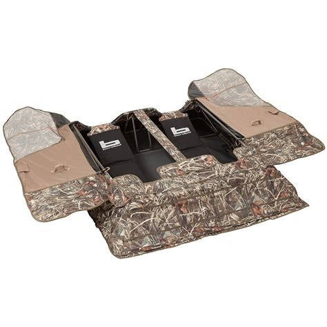 goose layout blind reviews banded two man layout ground blind save 37