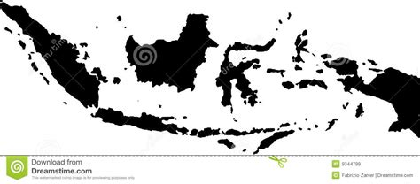 indonesia map vector free vector map of indonesia royalty free stock images image