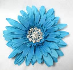 turquoise flowers turquoise blue large flower with center