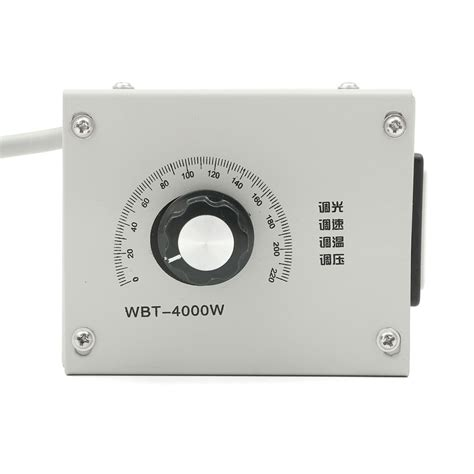 220v fan speed 4000w ac 220v variable voltage controller for fan speed