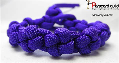 Cross knot paracord bracelet   Paracord guild
