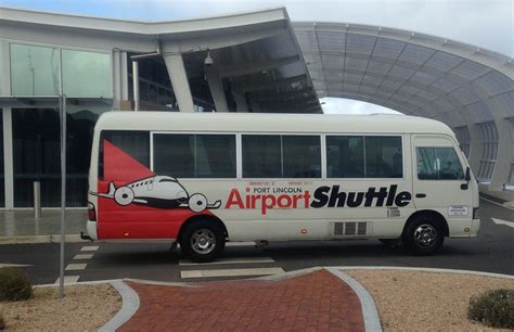 airport shuttle how to get to lincoln south australia adventure
