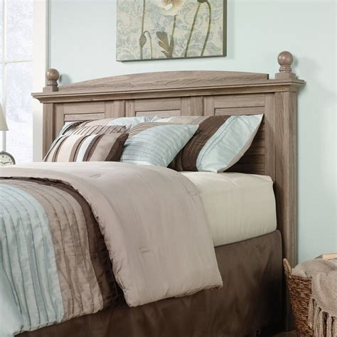 headboard oak full and queen panel headboard in oak 415002