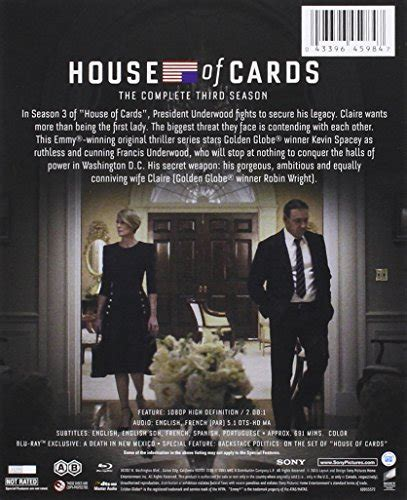 house of cards store house of cards season 3 blu ray video store online
