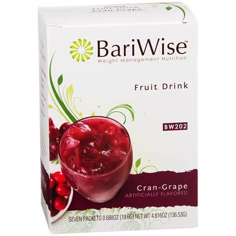 fruits w protein protein diet fruit drink cran grape 7 ct bariwise