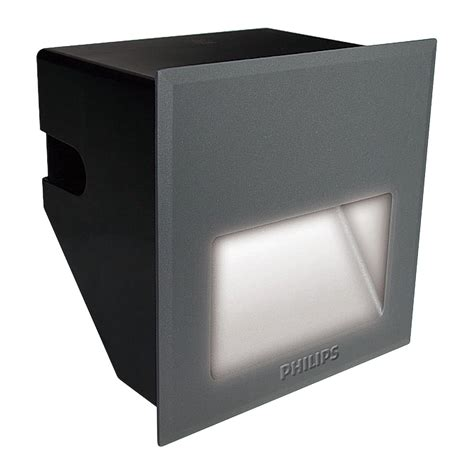 Lu Uv Philips bwg150 led50 ww psu 220 240v ip67 9006 led step light