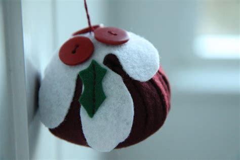 pattern for felt christmas pudding modern country style felt christmas pudding