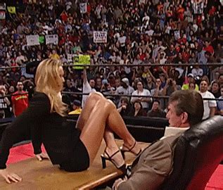 trish stratus evolution entrance top 15 hottest gifs of stacy keibler thesportster